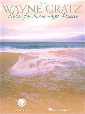Wayne Gratz - Solos for New Age Piano imagine