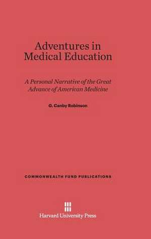Adventures in Medical Education