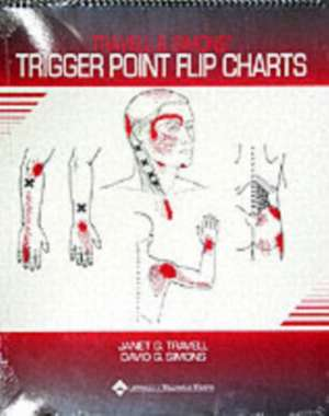Travell and Simons' Trigger Point Flip Charts imagine