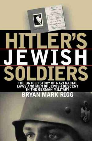 Hitler's Jewish Soldiers imagine