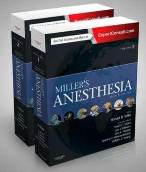 Miller's Anesthesia, 2-Volume Set de Ronald D. Miller