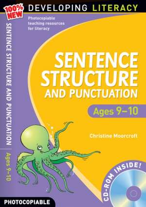 Sentence Structure and Punctuation - Ages 9-10