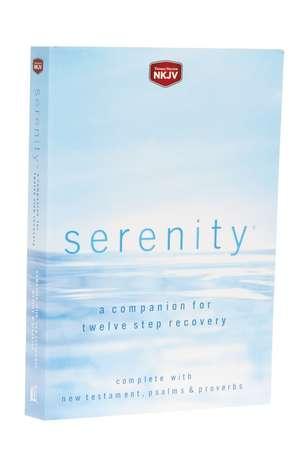 NKJV, Serenity, Paperback, Red Letter Edition