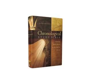NKJV, The Chronological Study Bible, Hardcover de Thomas Nelson