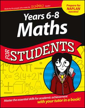 Years 6 – 8 Maths For Students