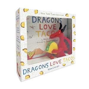 Dragons Love Tacos Book and Toy Set de Adam Rubin