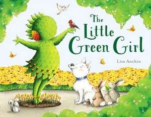 The Little Green Girl de LISA ANCHIN