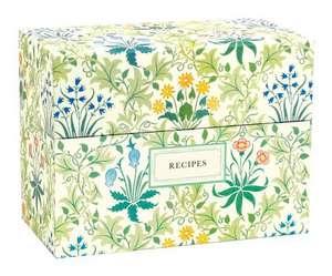Victoria & Albert Museum William Morris Recipe Box:  480 Sticky Notes de  MORRIS  WILLIAM