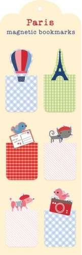 Paris Magnetic Bookmarks de Jillian Phillips