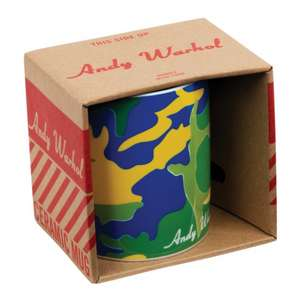 Cana Andy Warhol Green Camouflage