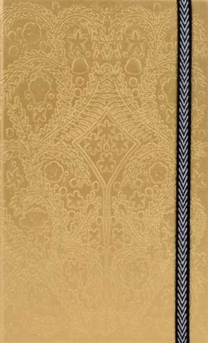 Carnet Paseo Gold Christian Lacroix