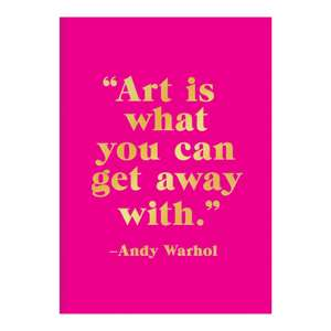 Andy Warhol Hardcover Book of Sticky Notes de Galison