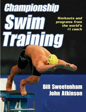 Championship Swim Training de John Atkinson