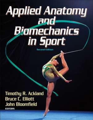 Applied Anatomy and Biomechanics in Sport