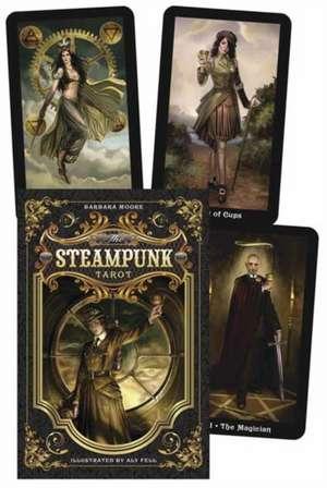 The Steampunk Tarot de Barbara Moore