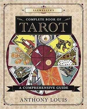 Llewellyn's Complete Book of Tarot imagine