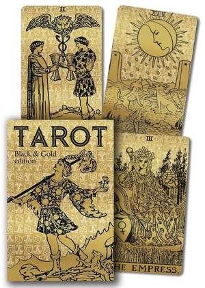 Tarot Black & Gold Edition de Arthur Edward Waite