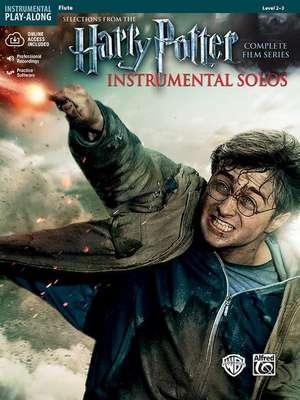 Harry Potter Instrumental Solos: Flute, Book & CD de Bill Galliford