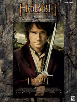 The Hobbit: An Unexpected Journey: Easy Piano Selections from the Original Motion Picture Soundtrack de Howard Shore