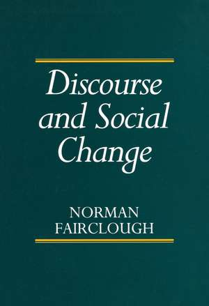 Discourse and Social Change imagine