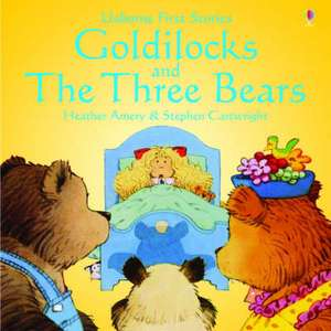 Usborne Fairytale Sticker Stories Goldilocks And The Three Bears