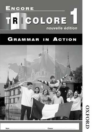 Encore Tricolore Nouvelle 1 Grammar in Action Workbook Pack (x8)