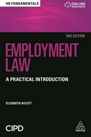 Employment Law de Elizabeth Aylott