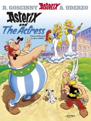 Asterix and the Actress de Albert Uderzo