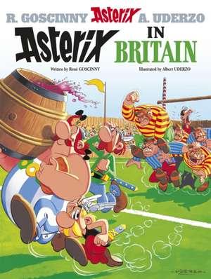 Asterix in Britain de Rene Goscinny