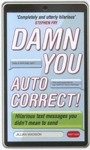Damn You, Autocorrect! imagine