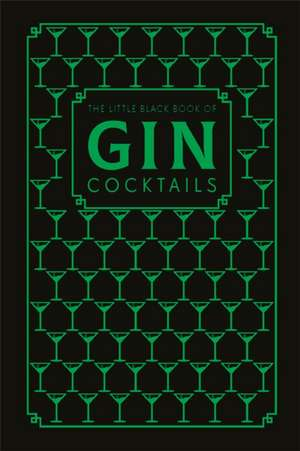 The Little Black Book of Gin Cocktails imagine
