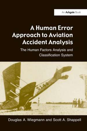 A Human Error Approach to Aviation Accident Analysis imagine