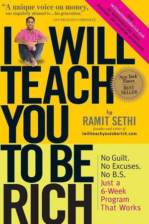 I Will Teach You to Be Rich de Ramit Sethi