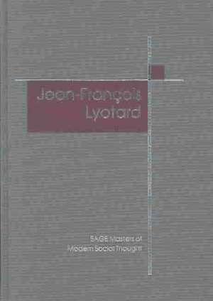 J. F. Lyotard de Derek Robbins