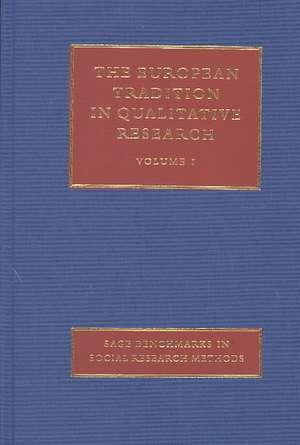 The European Tradition in Qualitative Research de Raymond Boudon
