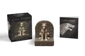 Game of Thrones Stark Direwolf [With Statue]