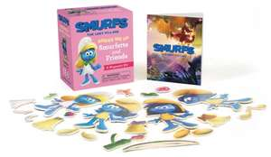 Smurfs The Lost Village: Dress Me Up Smurfette and Friends: A Magnetic Kit de Running Press