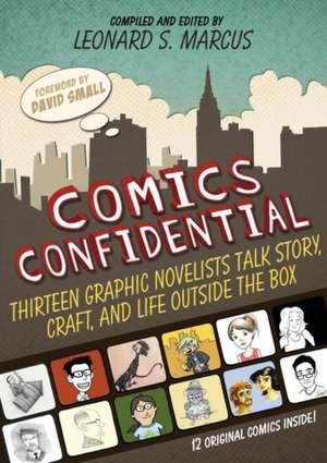 Comics Confidential de Leonard S. Marcus