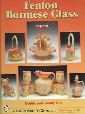 Fenton Burmese Glass imagine