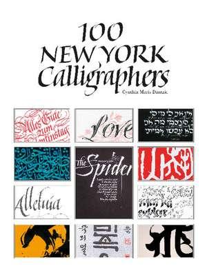 100 New York Calligraphers imagine