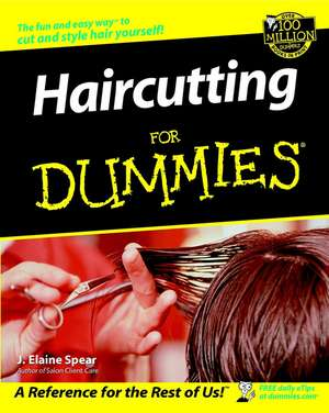 Haircutting for Dummies de J.E. Geary