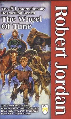 The Wheel of Time, Boxed Set III, Books 7-9:  A Crown of Swords, the Path of Daggers, Winter's Heart de Robert Jordan