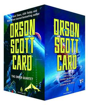 The Ender Quartet Set:  Ender's Game, Speaker for the Dead, Xenocide, Children of the Mind de Orson Scott Card