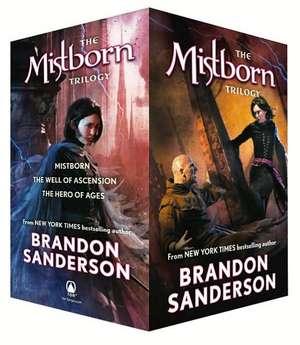 Mistborn Trilogy Set:  A Novel of the Mithermages de Brandon Sanderson