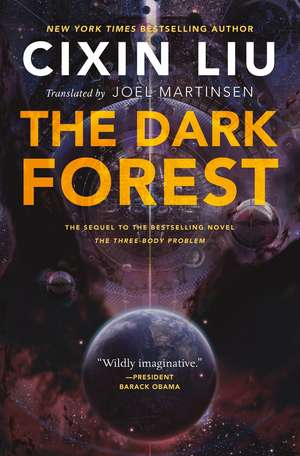 The Dark Forest:  The Elephants' Graveyard de Cixin Liu