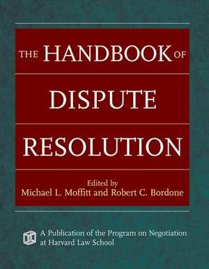 The Handbook of Dispute Resolution imagine