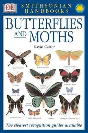Butterflies and Moths de David J. Carter