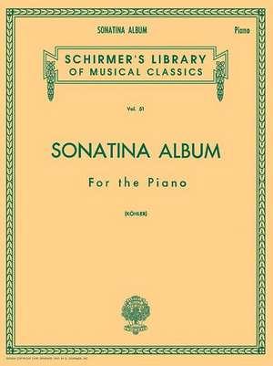 Sonatina Album: Schirmer Library of Classics Volume 51 Piano Solo de  Hal Leonard Corp