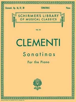 MUZIO CLEMENTI SONATINAS FOR T de Muzio Clementi