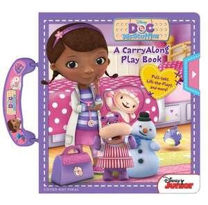 Disney Doc McStuffins:  A Carryalong Play Book de  Disney Doc McStuffins